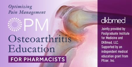 Educating Pharmacists on New Treatments for Osteoarthritis Pain