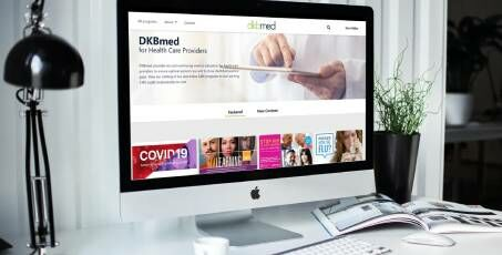 DKBmed Redesigns Website to Better Serve Health Care Providers
