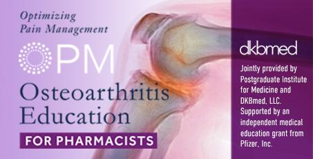 Optimizing Pain Management: Osteoarthritis Education for Pharmacists